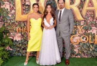 Eva Longoria Looks Like a Ray of Sunshine at the Dora and the Lost City of Gold Premiere