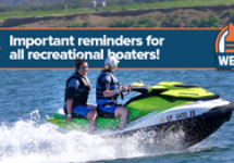 National Safe Boating Council Shares Boating and Social Distancing…