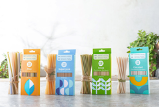Equo Straws – Made With Coconuts, Grass, Rice and Sugarcane, Each…